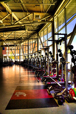 Photograph - The Weight Room - Washington State University by David Patterson