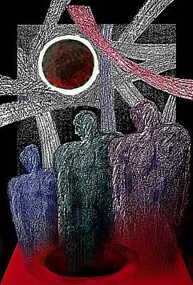 The Well Of Despair Art Print by Hartmut Jager