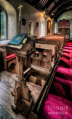 Organ Pipes Photograph - The Welsh Bible by Adrian Evans