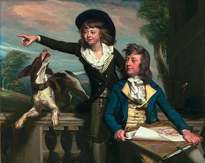 The Western Brothers, 1783 Art Print by John Singleton Copley