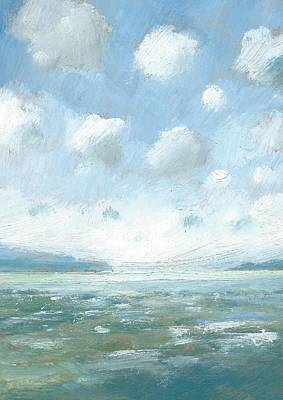 Painting - The Western Solent Part One by Alan Daysh