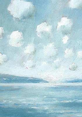 The Western Solent Part Six Art Print by Alan Daysh