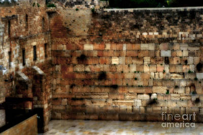 Photograph - Western Wall by Doc Braham