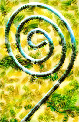 The Wet Whirl  Art Print by Steve Taylor
