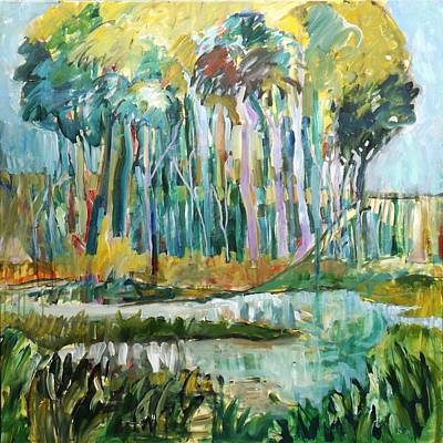 Painting - The Wetlands by Gloria Dietz-Kiebron