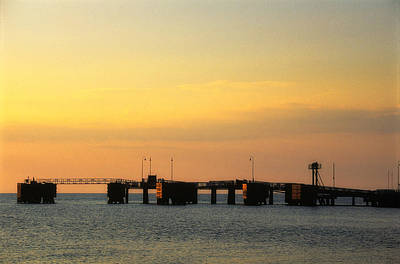 Photograph - The Wharf At Sunrise 2 by Jeremy Herman