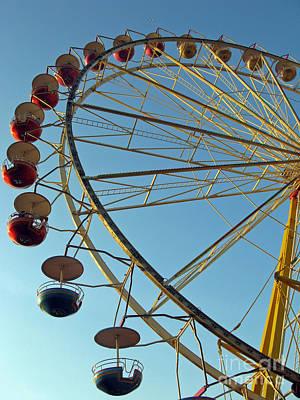 Photograph - The Wheel. Klaipeda. Lithuania. 2009 by Ausra Huntington nee Paulauskaite