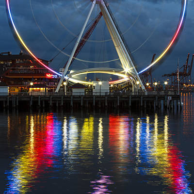 Photograph - The Wheel by Tony Locke