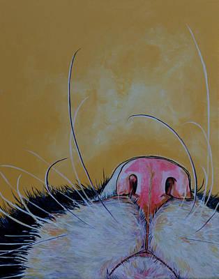 The Whiskers Art Print by Patti Schermerhorn