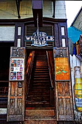 Photograph - The Whistle Bar Key West by Rebecca Korpita