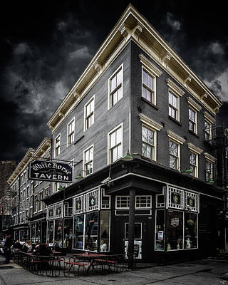 Digital Art - The White Horse Tavern by Chris Lord
