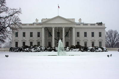 Photograph - The White House by Andrew Romer
