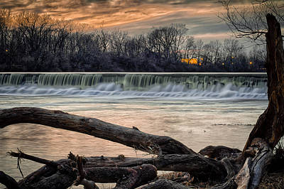 Photograph - The White River by Ron Pate