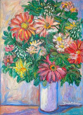Painting - The White Vase by Kendall Kessler