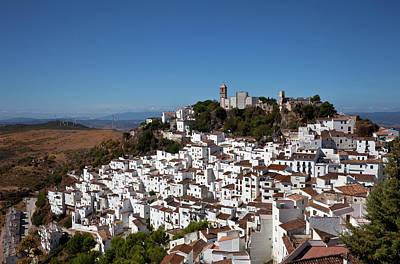 Casares Photograph - The White Villages Of Casares by Panoramic Images