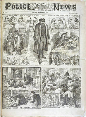The Whitechapel Monster Art Print by British Library