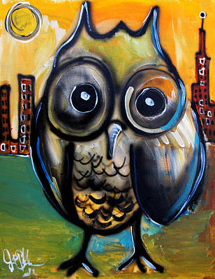 Painting - The Who  by Jon Baldwin  Art