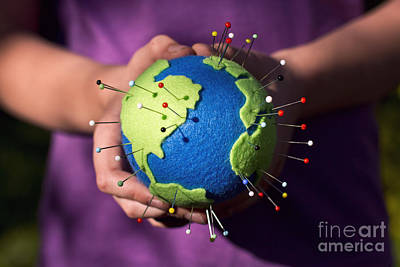 Photograph - The Whole World In Your Hands by Catherine MacBride