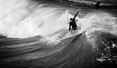 Surfing Photograph - The Wicked Sea  by Laura Fasulo