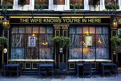 Photograph - The Wife Knows Pub by David Pyatt