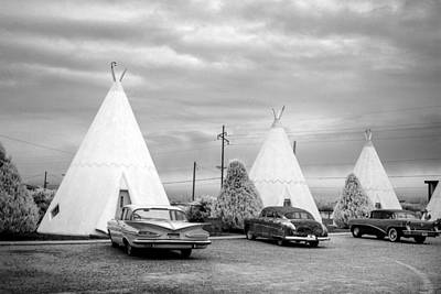 Photograph - The Wigwam Motel On Route 66 In Holbrook by Carol M Highsmith