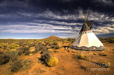 Tee-pees Photograph - The Wigwam  by Rob Hawkins