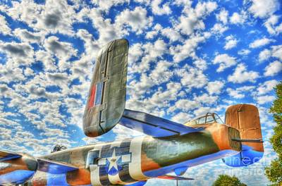 Twin Tailed Photograph - The Wild Blue Yonder 2 by Mel Steinhauer