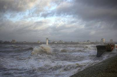 Photograph - The Wild Mersey 2 by Spikey Mouse Photography
