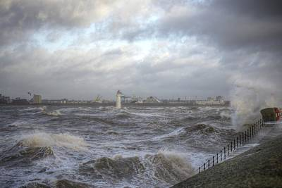 Photograph - The Wild Mersey by Spikey Mouse Photography