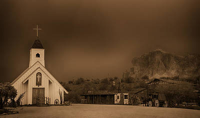 The Superstitions Photograph - The Wild West  by Saija  Lehtonen