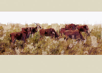 The Wilds Print by Ron Jones