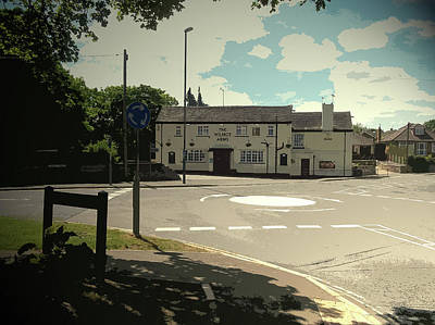The Wilmot Arms In Chaddesden, The Chaddesden Historical Art Print