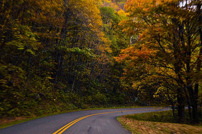 Photograph - The Winding Road by Debra Crank