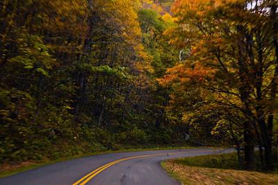 Photograph - The Winding Road by Debra Crank
