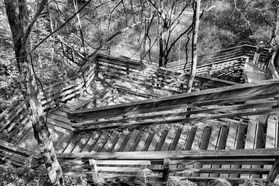 The Winding Stairs Art Print