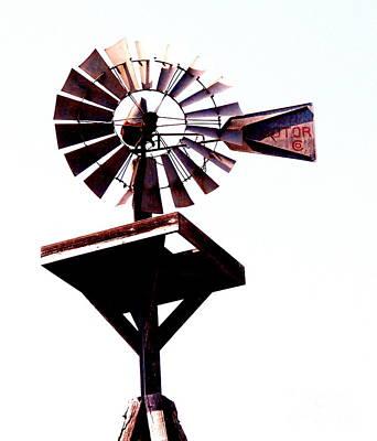 The Windmill Art Print by Avis  Noelle