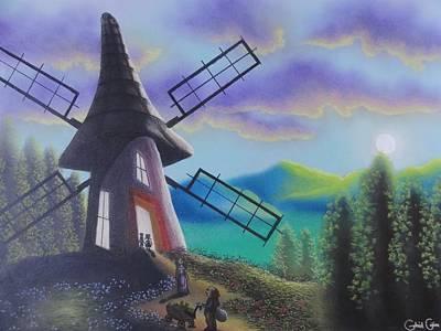 The Windmill  Art Print