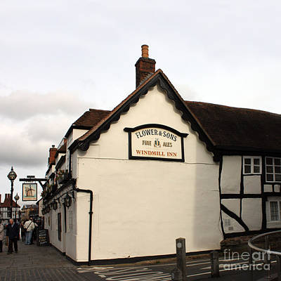 Photograph - The Windmill Inn Stratford by Terri Waters