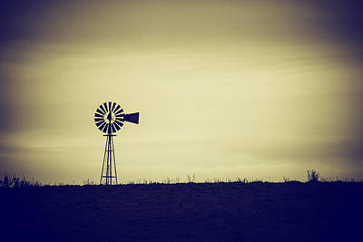 Will Power Photograph - The Windmill by Karol Livote