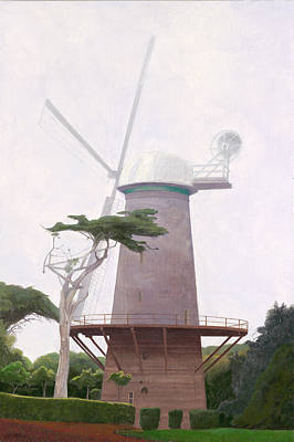 The Windmill Art Print
