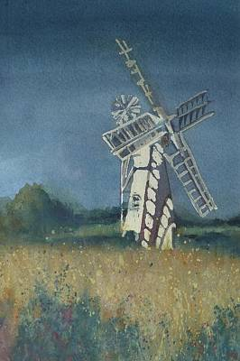 Painting - The Windmill by Lori Ippolito