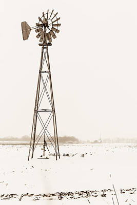 Photograph - The Windmill by Ron Pate