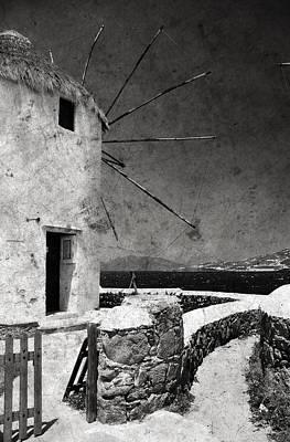 The Windmills Of Mykonos 3 Art Print