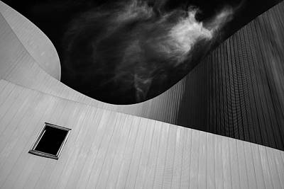 Modern Architecture Photograph - The Window by Gilbert Claes