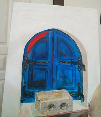 The Window Art Print by Sulzhan Bali