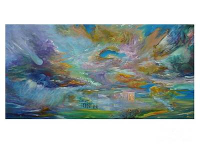 Painting - The Winds Of Changes Shift by Myra Maslowsky