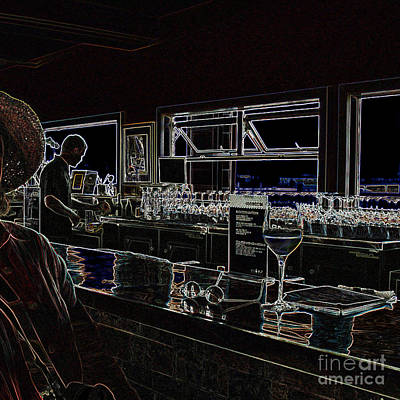 Photograph - The Wine Bar by Connie Fox