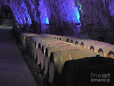 The Wine Cave Art Print by France  Art
