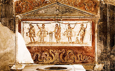Photograph - The Wine Offering - Pompeii by Weston Westmoreland