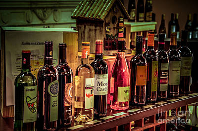 Photograph - The Wine Shop by Ronald Grogan
